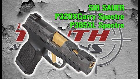 SIG SAUER Spectre Guns Overview & Shooting : P320XCarry Spectre & P365XL Spectre