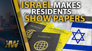 ISRAEL MAKES RESIDENTS SHOW PAPERS