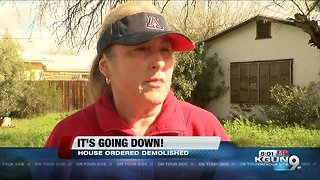 It's going down! Nuisance house to be demolished