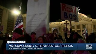 Maricopa County Board of Supervisors face threats