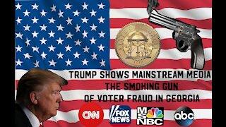 Mainstream Media didn't broadcast the smoking gun!!!