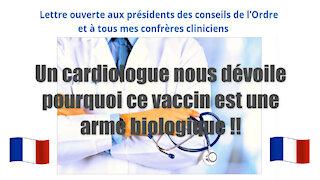 """UN VACCIN ? Pas du tout, car c'est une """"arme biologique"""". Dr.Jean Stevens/ Extrait (Hd 1080) Lire descriptif"""