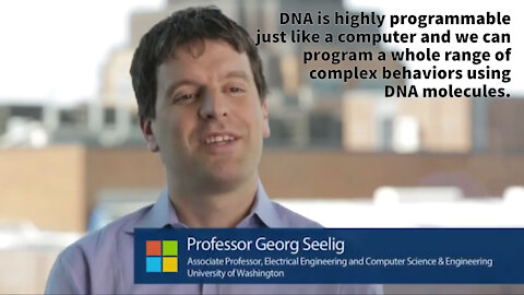 Microsoft Employees Claim To Reprogram DNA - Create Biomechanical Robots
