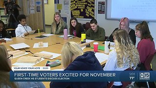 First-time voters excited for November