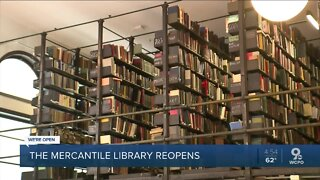Downtown's Mercantile Library reopens for members
