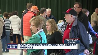 Voters experience major delays at precinct in Redford Township
