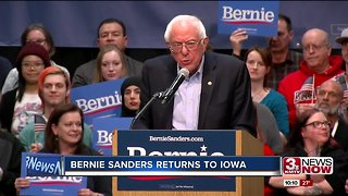 Bernie Sanders returns to Council Bluffs