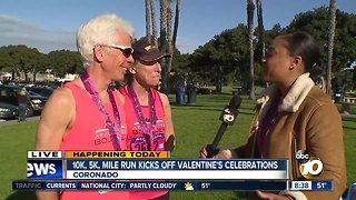 10K, 5K, mile run kicks off Valentine's celebration