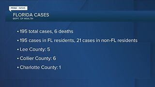 Florida Coronavirus deaths up to seven