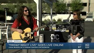 Friday Night Live in Chandler goes live online