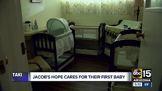 Jacob's Hope treating baby exposed to methadone