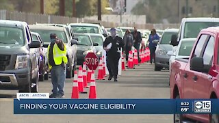 Confusion continues on COVID-19 vaccine eligibility