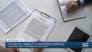 COVID-19 liability concerns surface