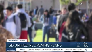 San Diego Unified looks at reopening plans