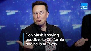 Elon Musk moves to Texas