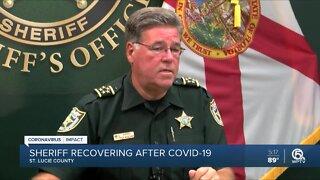 St. Lucie County Sheriff Ken Mascara describes battle with coronavirus