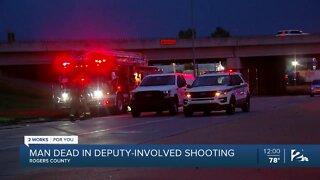Man dead in deputy-involved shooting