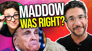 Rachel Maddow was RIGHT About Giuliani? Dominion Defamation - Viva Frei Vlawg