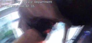 Police officers save choking boy