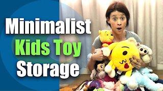Minimalist Kids Toy Storage / Large Family Kids Toy Storage