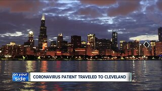 Man diagnosed with coronavirus recently visited Cleveland, officials say