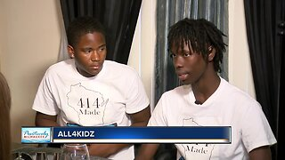 Milwaukee teens reach out to foster kids