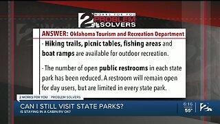 Problem Solvers Coronavirus Hotline: Can I Still Visit State Parks?