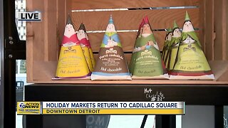 Downtown Detroit Holiday Markets