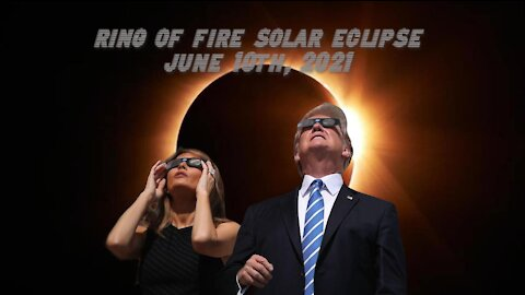 Ring of Fire Blood Moon (Solar Eclipse) June 10th 2021