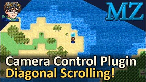 Camera Control Plugin with Diagonal Scrolling! RPG Maker MZ