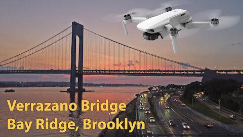 Verrazano Bridge fly over - June 6th