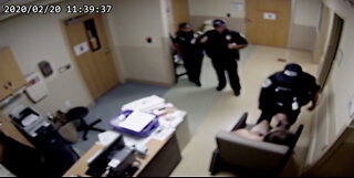 Surveillance video shows hospital incident that led to Fort Pierce police officers' arrests