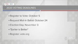 2020 Voting deadlines
