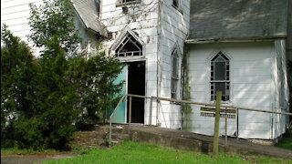 Venton Church - Abandoned