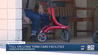 COVID-19 toll on long term care facilities