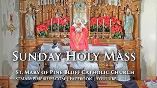 Holy Mass for Pentecost Sunday, May 23, 2021
