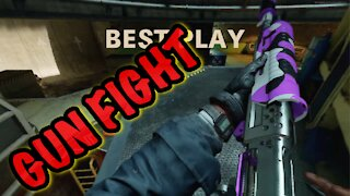 Thought I'd give Gun Fight a try on COD BO CW