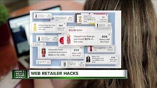 Don't Waste Your Money: Web retailer hacks