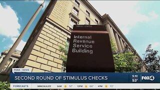 Stimulus checks go out