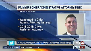 Fort Myers Chief Administrative Attorney fired