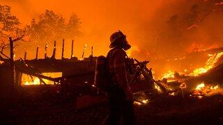 California Brush Fire Forces Evacuations