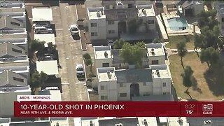 Child shot in Phoenix