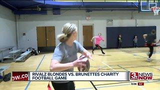 Rivalz Blondes vs. Brunettes Football Game