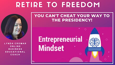 You Can't Cheat Your Way To The Presidency!