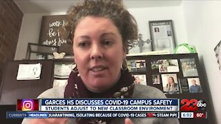 Garces High School discusses COVID-19 campus safety