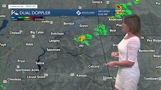 More Showers & Storms Tonight