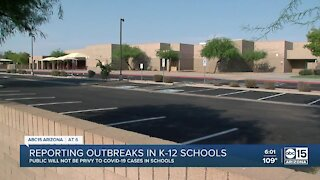 ADHS, county health won't report COVID-19 outbreaks in schools to public