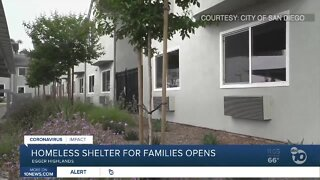 Shelter for homeless families opens
