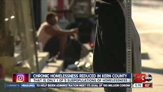 Kern County significantly reduces chronic homelessness, one of many homeless subpopulations