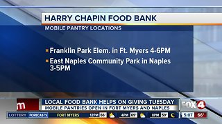 Harry Chapin Food Bank helps on Giving Tuesday